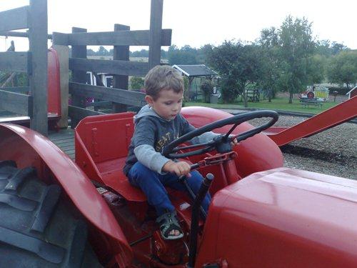 Tänk var traktorer är dumma!