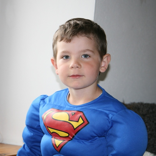 Carl är Superman!