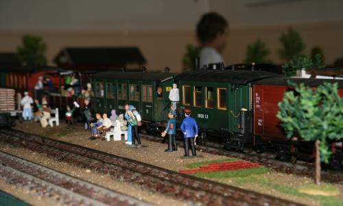 I Ohs fanns det också en modelljärnväg!