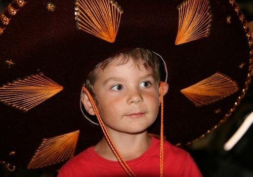 Carl med riktig Mexicana Hatt!