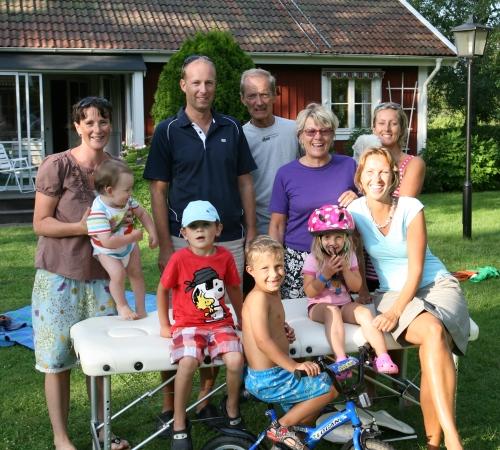 Här är hela familjen Lindbladh uppradade!