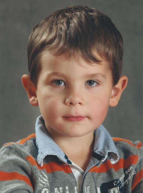 Carl fotograferad på förskolan!